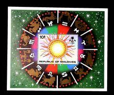 Maldives 1974 Zodiac M/S SCOTT No, 515 , I202006 - Maldives (1965-...)