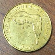 75018 PARIS DALI ESPACE MONTMARTRE MÉDAILLE MONNAIE DE PARIS 2010 JETON TOURISTIQUE MEDALS COINS TOKENS - Monnaie De Paris