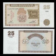 "Армения 25 драм 1993 года ""Pick 34"" UNC - Armenia"