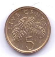 SINGAPORE 2003: 5 Cents, KM 99 - Singapore