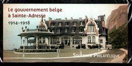 Bloc Souvenir N° 110 - Gouvernement Belge à Sainte-Adresse - Neuf Sous Blister - Souvenir Blokken