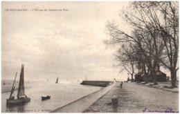 44 LE POULIGUEN - L'entrée Des Bateaux Au Port - Le Pouliguen
