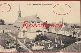 Zandvliet Santvliet ZELDZAAM Panorama Poldergemeente Antwerpen - Antwerpen