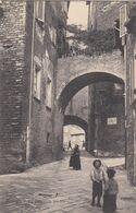 PERUGIA-VIA DELLA CITTÀ VECCHIA-CARTOLINA  VIAGGIATA IL 23-12-1908 - Perugia