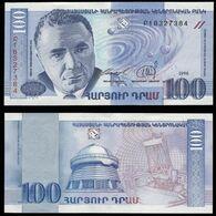 "Армения 100 драм 1998 года ""Pick 42"" UNC - Armenia"