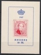E 102 Knokke 1967 ** - Erinofilia