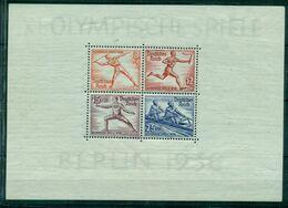 Deutsches Reich, Olympische Spiele Nr. Block 6 Postfrisch ** - Blocks & Sheetlets