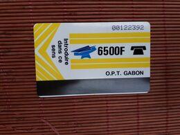 Phonecard Gabon 6500 F Used Rare - Gabun