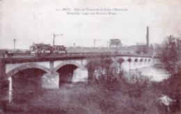 57 - Moselle - METZ - Pont De Thionville Et Usine D Electricité - Metz