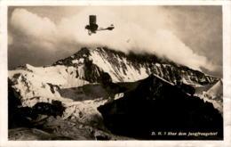 D. H. 5 über Dem Jungfraugebiet * 21. 10. 1929 - Flugzeug - BE Berne