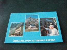 RIFUGIO A. BERTI E L. LUNELLI VISITA DEL PAPA GIOVANNI PAOLO II° AL GRUPPO POPERA  VEDUTE DOLOMITI - Hotels & Restaurants