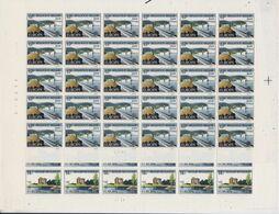 Europa Cept 1977 Belgium 2v Sheetlets (unfolded) ** Mnh (F8462) - 1977