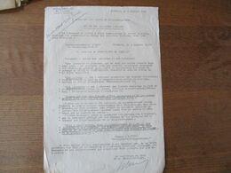 """CAMBRAI LE 5 JUILLET 1941 KREISKOMMANDANTUR I/692 """"VERWALTUNGSSTAB"""" BETRFFT:RETOUR DES ALSACIENS ET DES LORRAINS STATTIG - Historische Dokumente"""