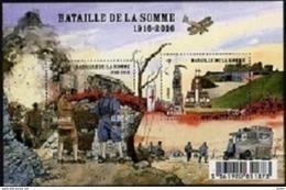 F5075** BATAILLE DE LA SOMME - Blocchi & Foglietti