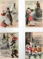 04 09/ D/   BRUSSEL   10 X CARTES AQUARELLE   MANNEKEN PIS       De MARCOVICI - Postcards