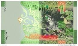 KUWAIT P. 30a 1/2 D 2014 UNC - Kuwait