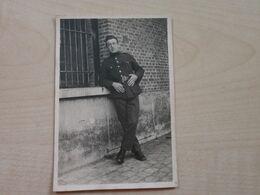 Ancienne Photo Prise Au FORT DE WAELHEM En 1922 SOLDAT - Krieg, Militär