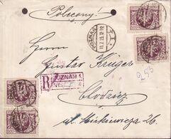 POLAND 1923 Inflation Cover 11.7.23 (2000 Mks) - Briefe U. Dokumente