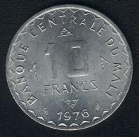 Mali, 10 Francs 1976, UNC - Mali (1962-1984)