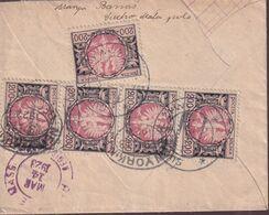 POLAND 1923 Inflation 22.II.23 Registered Cover (1000 Mk) - Briefe U. Dokumente