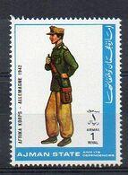 MILITARY UNIFORMS - AFRIKA KORPS - GERMANY 1942 - MNH (1W0742) - Militaria