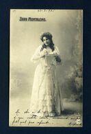 1900 Postcard Woman - Zaira Montalcino - Women