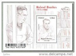 F5006** Rolland BARTHES - Blocchi & Foglietti