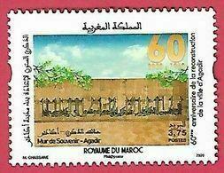 Maroc / Morocco - 2020 - 60ème Anniversaire De La Reconstruction De La Ville D'Agadir - Neuf** / MNH** - Morocco (1956-...)