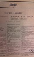 ANNUAIRE - 33 - Département Gironde - Année 1964 - édition Didot-Bottin - Telefonbücher