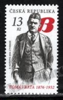 Czech Republic - Tchéquie 2016 Yvert 795, Famous People. Entrepreneur, Tomas Bata. Bata Shoes Company - MNH - Unused Stamps