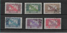 HONGRIE  PA 6/11    COIN MANQUANT SUR PA10  OBLITERES - Oblitérés
