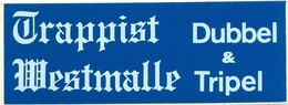Zelfklever Trappist Westmalle Dubbel & Tripel - Andere Sammlungen