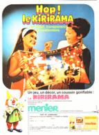 "PUB  KIRIRAMA Du CHOCOLAT "" MENIER ""    1969 ( 7 ) - Chocolate"