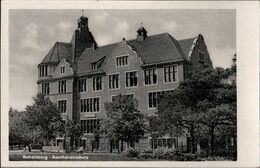 ! S/w Ansichtskarte, Beethovenschule Potsdam Babelsberg - Potsdam