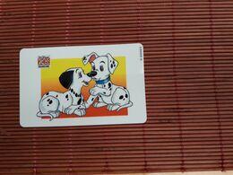 Disney  Dalmatiens Phonecard  Company Tele 2000 2 Scan Rare - Disney