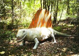 Zoo Préhistorique De Fontirou   Castella   Dimetrodon - Non Classificati