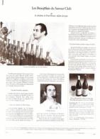 """PUB   BEAUJOLAIS  Avec """" PAUL BOCUSE  """"  1982 ( 1 ) - Gastronomie"""