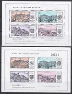 Ungarn 1971 - Mi.Nr. Block 79 A + B - Postfrisch MNH - Hojas Bloque