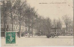35 Rennes Place De Bretagne Attelage  -a37 - Rennes
