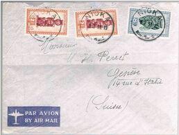 Congo Belge, 1931, Nioka-Geneve - Congo Belge