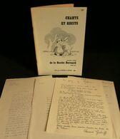 ( Bretagne Ethnomusicologie Morbihan ) CHANTS ET RECITS AUTOUR DE LA ROCHE-BERNARD 1982 DASTUM RUICARD - Muziek