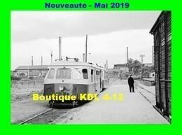 AL 569 - Autorail Billard A 80 D En Gare - GUEUGNON - Saône Et Loire - CFD - Gueugnon