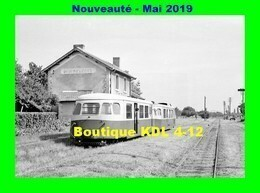 AL 570 - Autorail Billard A 80 D Avec Sa Remorque En Gare - RIGNY-CLESSY - Saône Et Loire - CFD - France