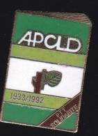 66659-Pin's . L'APCLD .personnels Malades.situation D'handicap De La Poste Et Orange. - Post