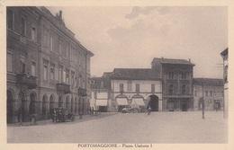 Emilia Romagna - Ferrara - Portomaggiore - Piazza Umberto I° - F. Piccolo - Viagg - Bella Animata - Italien