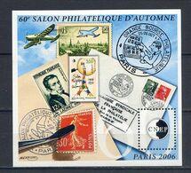TIMBRES FRANCE...REF080920...BLOC CNEP 60éme SALON PHILATELIQUE D AUTOMNE, PARIS 2006 - CNEP