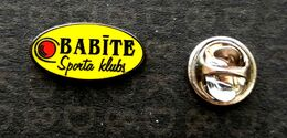 Football Pins  -  S.K.  Babite - Latvia. - Calcio