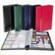 ALBUM LINDNER N60 - 60 PAGES FOND NOIR - 9 BANDES - VIDE - Albums Met Klemmetjes