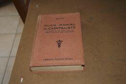 Guide Manuel Du Capitaliste - Bonnet - Management