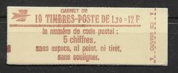 France Carnet 1974 C 2 - GB - Conf. 6 - Neuf ** Sans Charnière - TB - Definitives